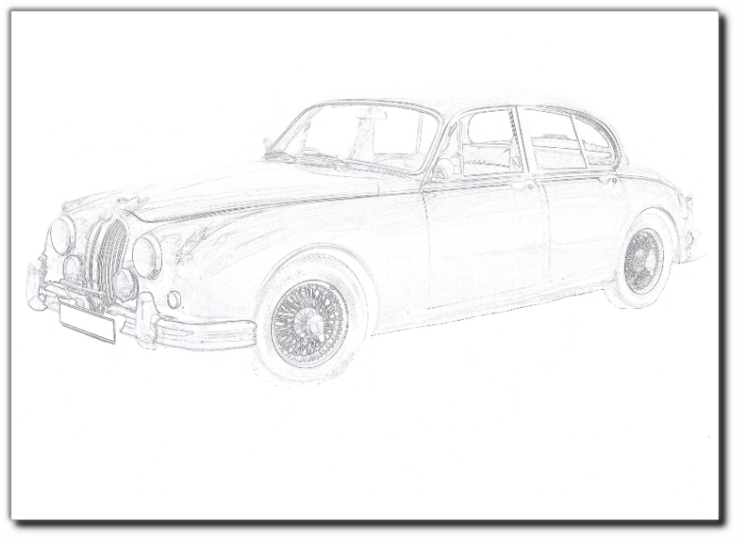 colour your mk2 jaguarmk2info - Childrens Pictures To Colour In